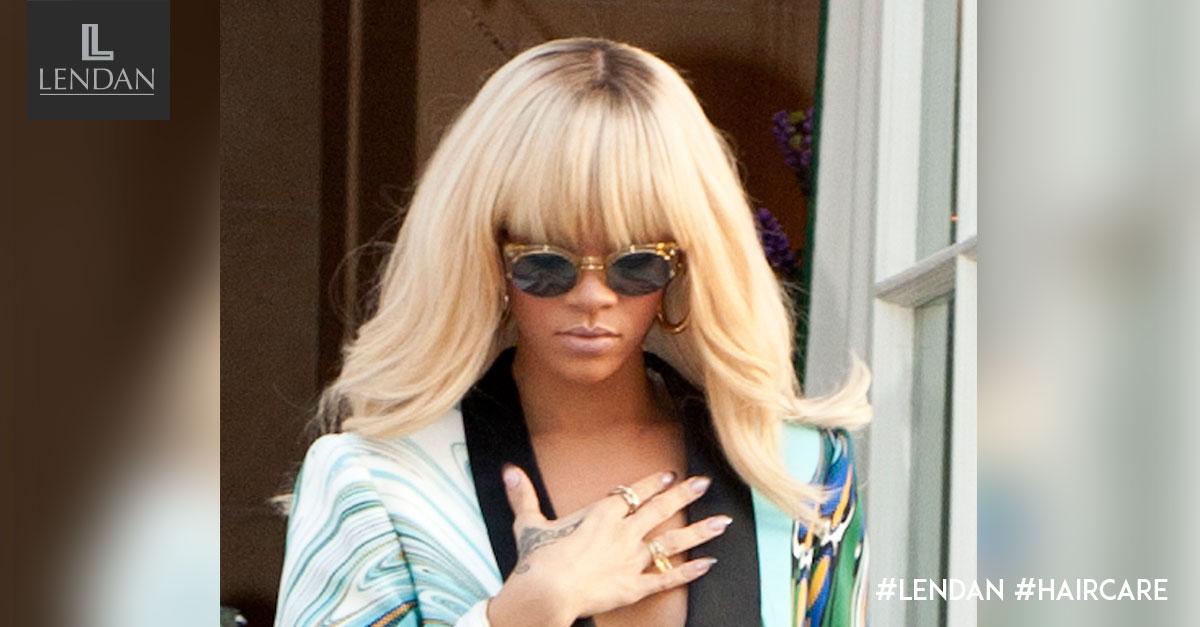 Rihanna rubio platino