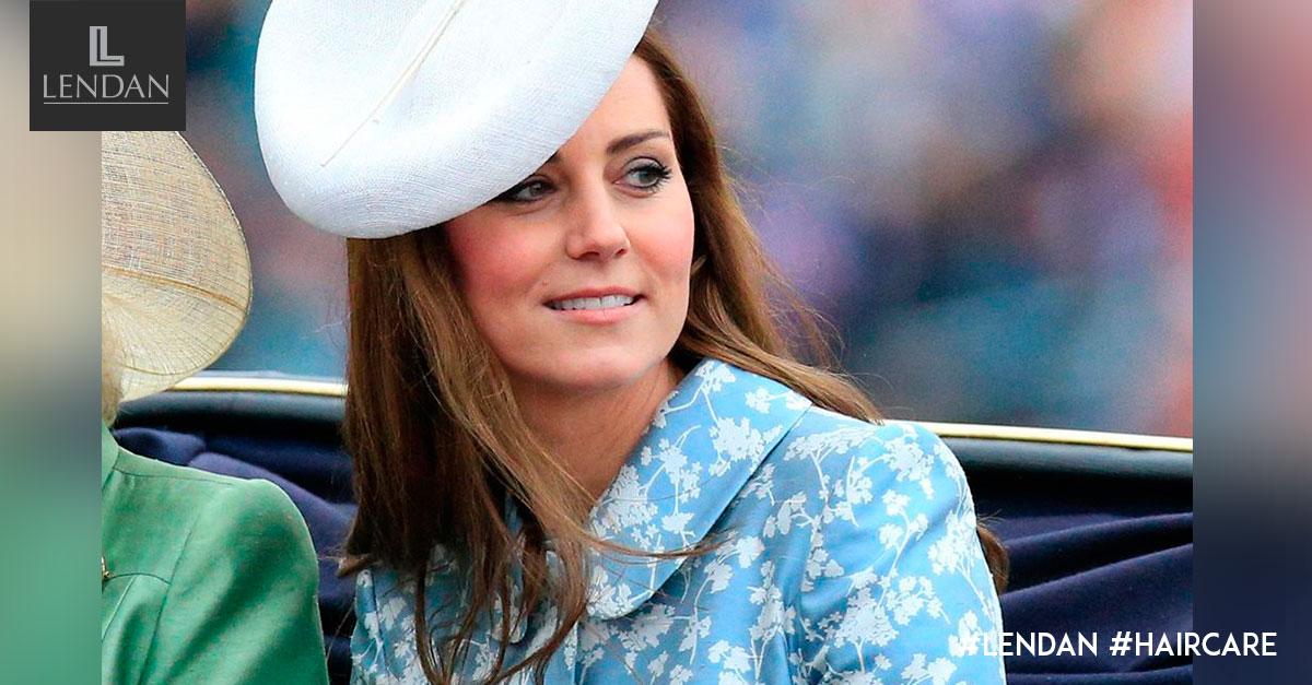 Kate Middleton tocado pelo suelto