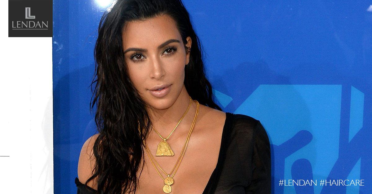 Wet Hair Kim Kardashian VMA 2016